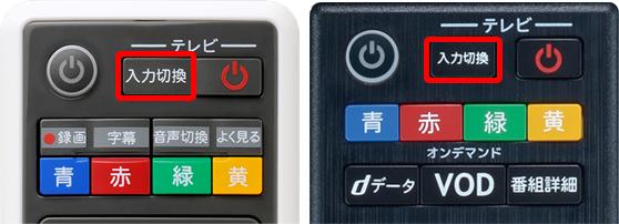 入力切替ボタン