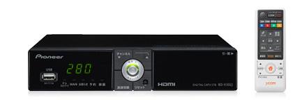 Pioneer BD-V302J(Smart J:COM Box)
